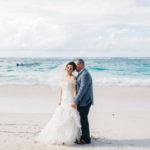 Beach wedding portraits Punta Cana