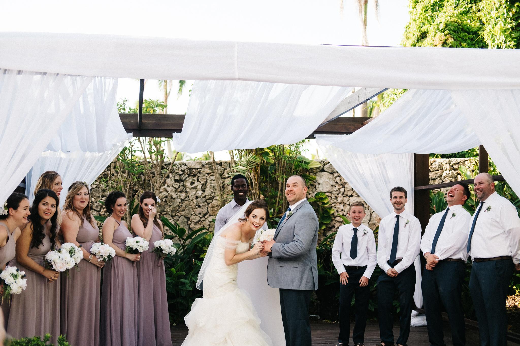 Punta cana wedding, royalton