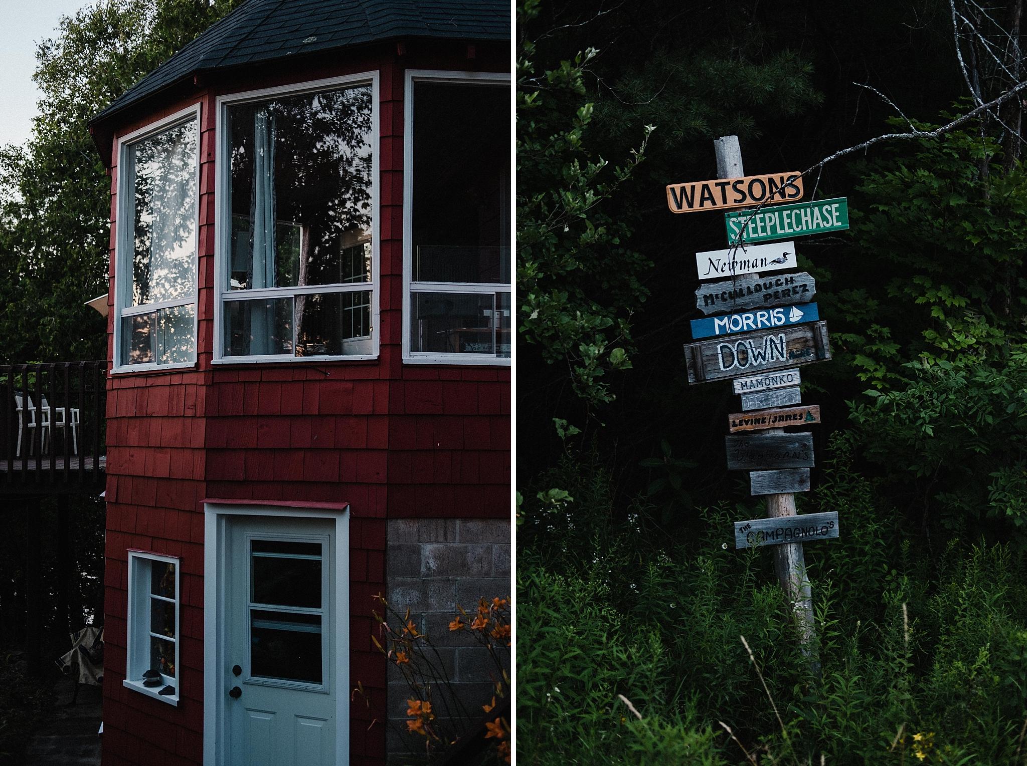 Muskoka Cottage Engagement Photos
