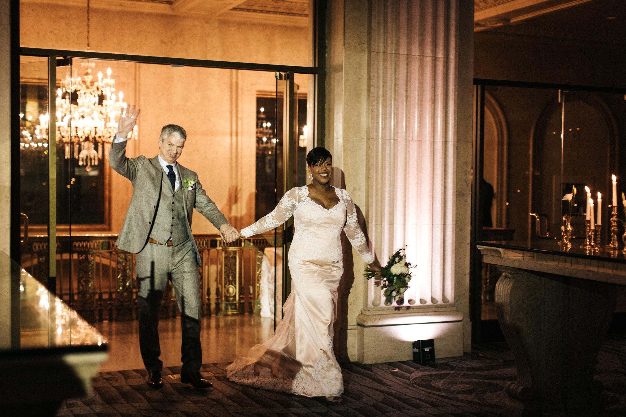 wedding photos one king west wedding reception
