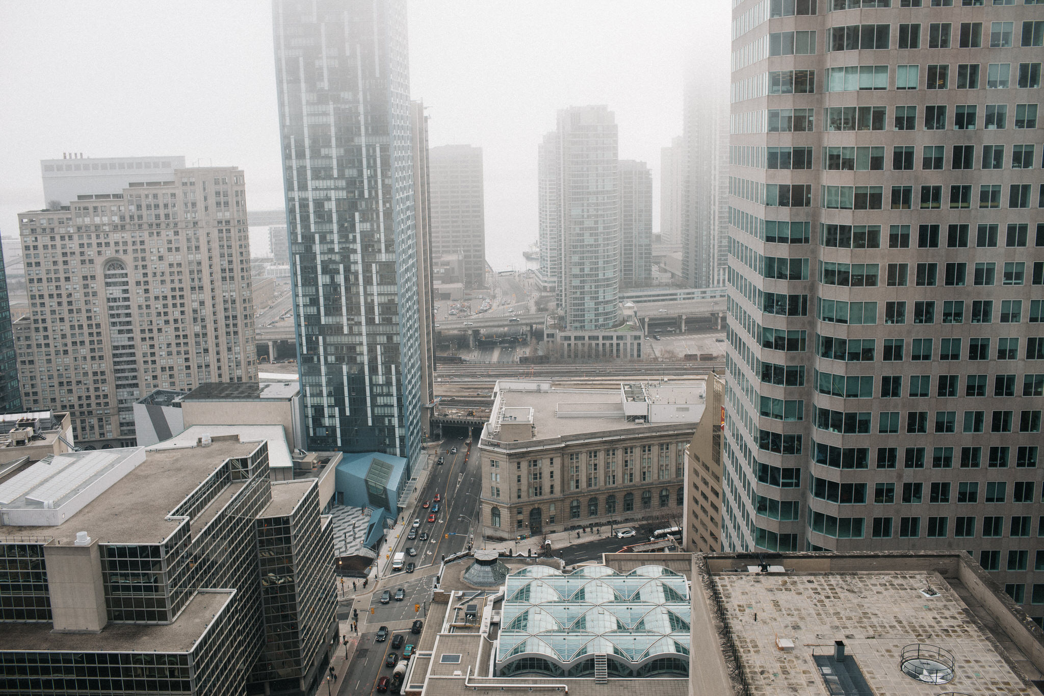 view from one king west toronto