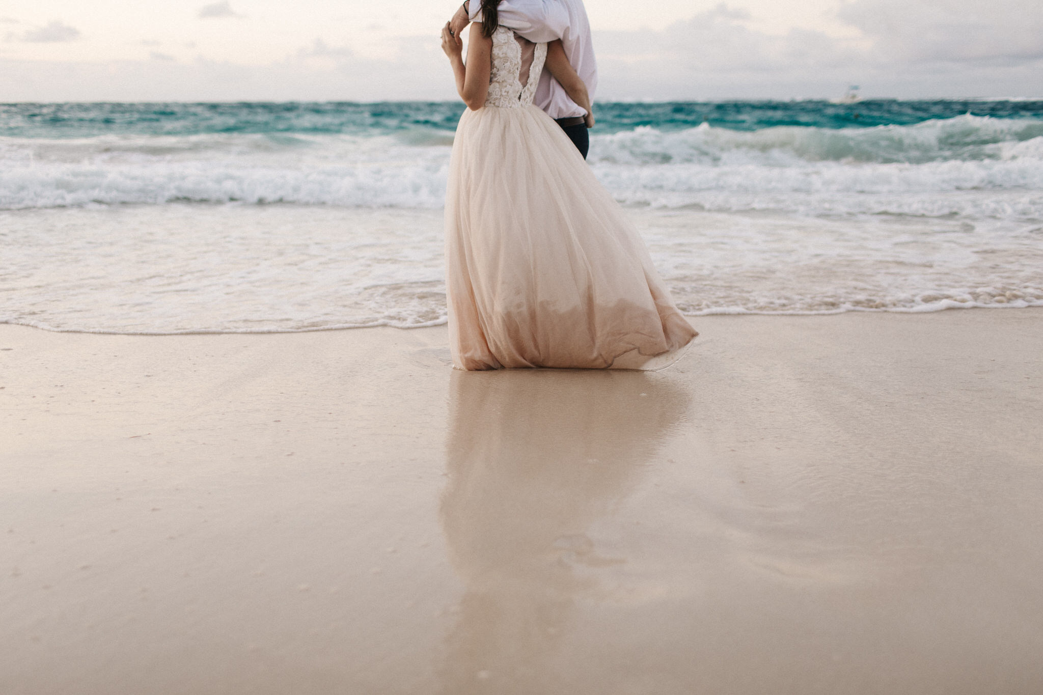 punta cana, destination wedding photographer, trash the dress