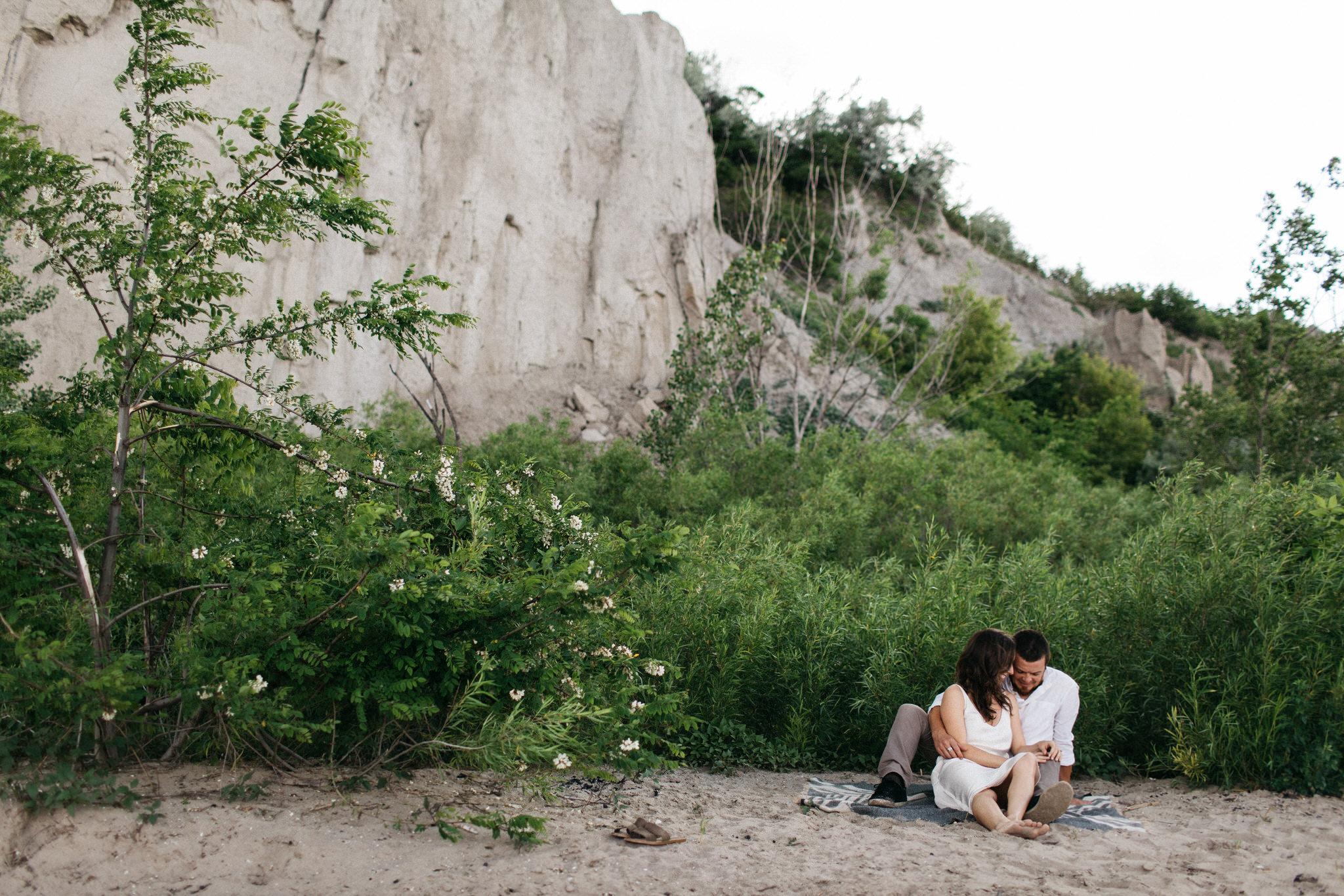 Scarborough Bluffs Engagement