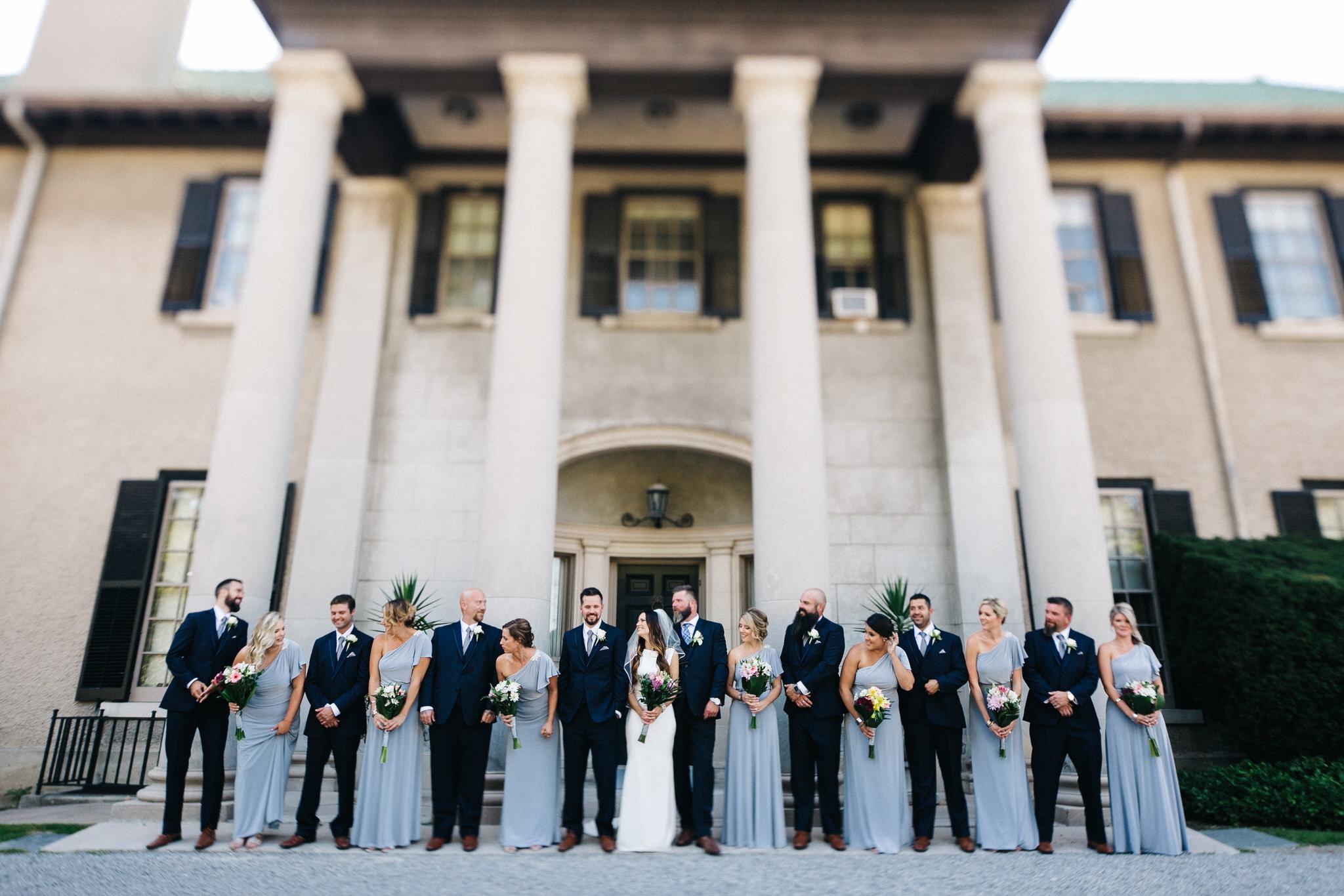 St. George Anglican Oshawa, Toronto wedding photographer, parkwood estates oshawa, wedding party