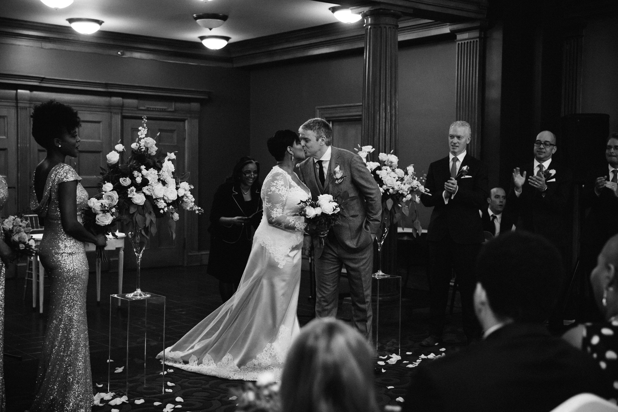 wedding photos one king west wedding cere