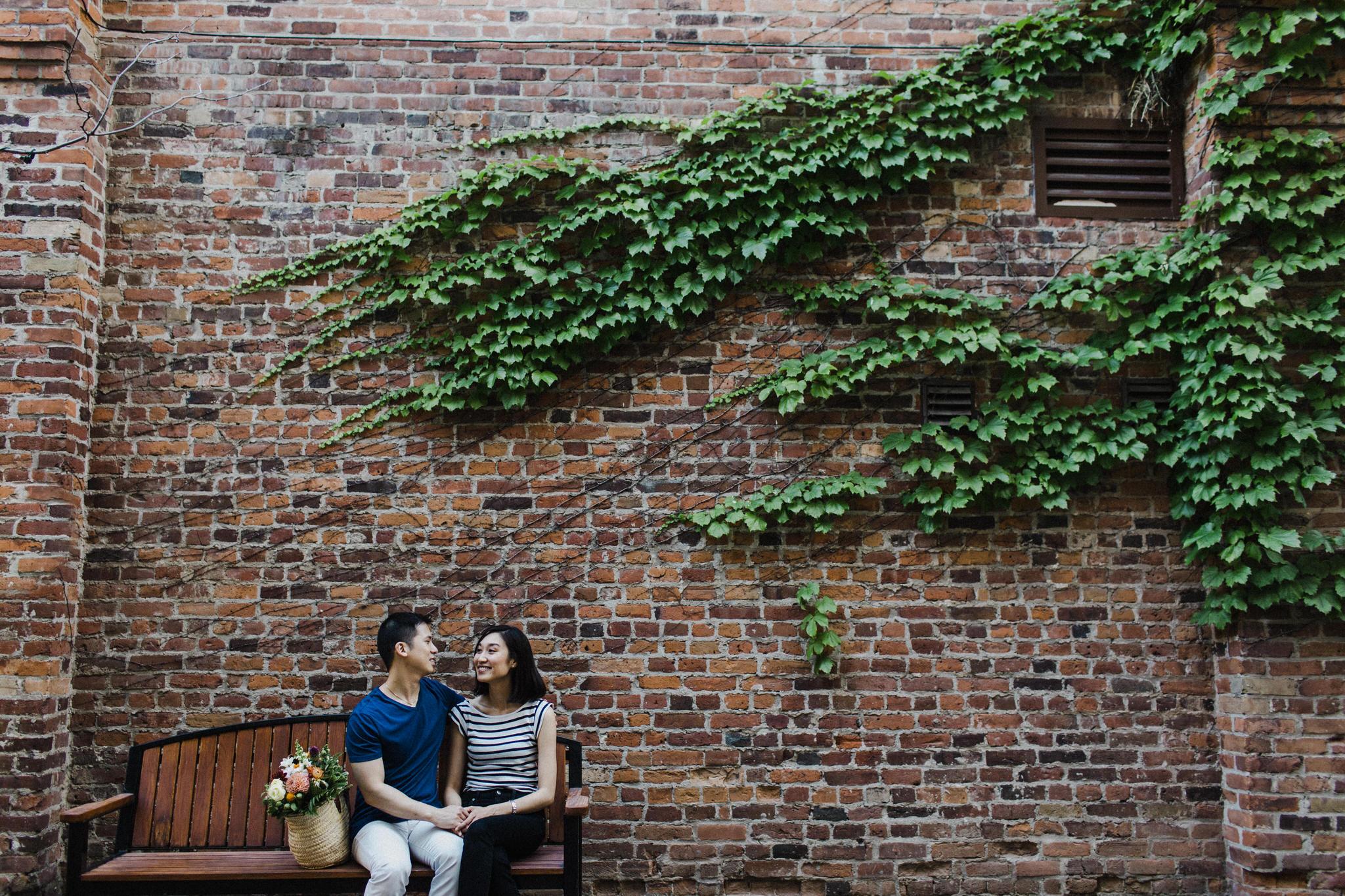 corktown engagement photos, toronto wedding photographer