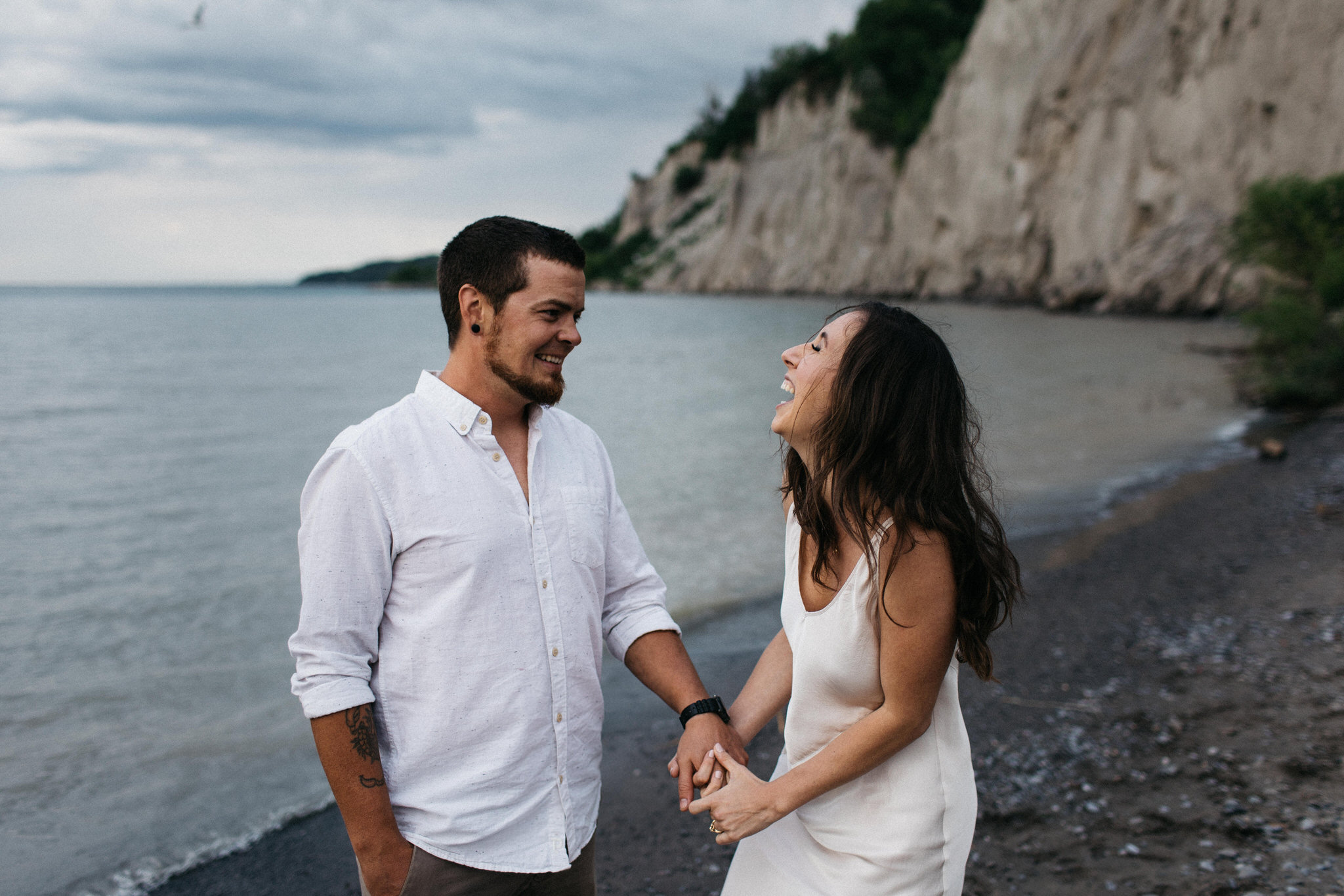 Scarborough Bluffs Engagement
