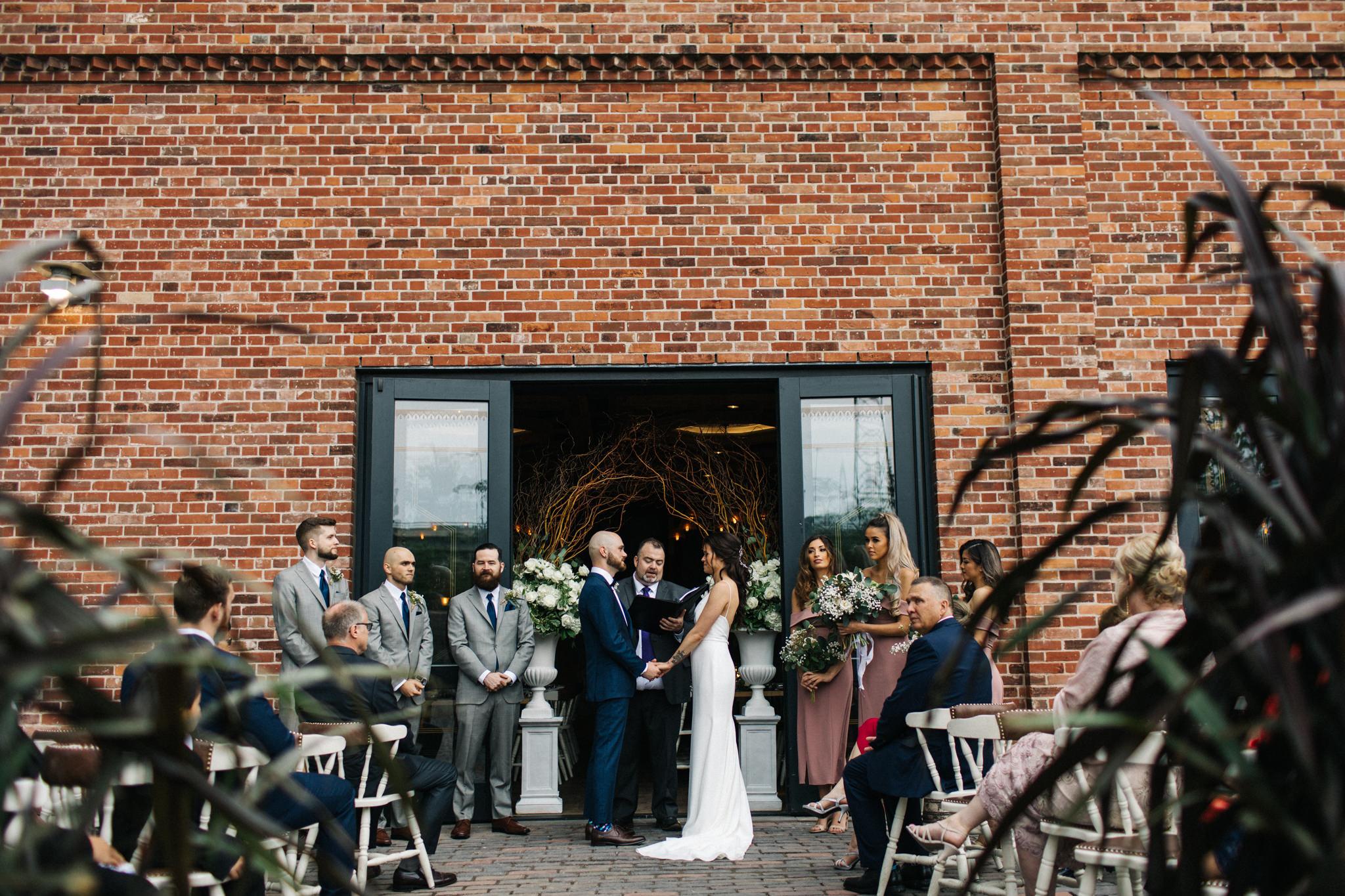 wedding at cluny bistro toronto