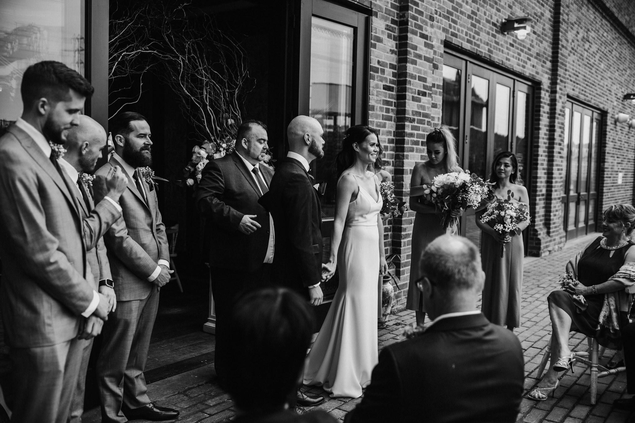 wedding at cluny bistro toronto