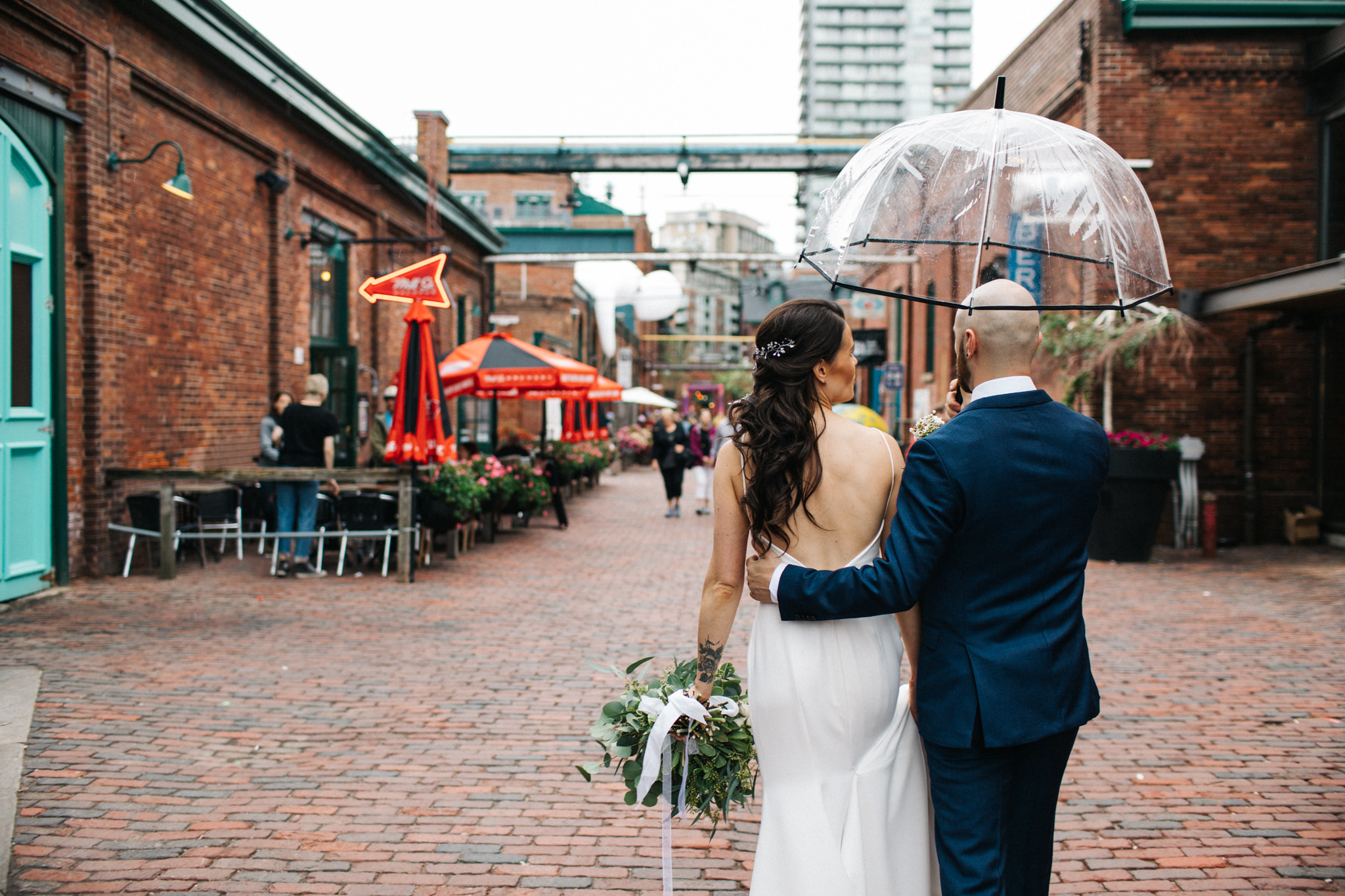 cluny bistro wedding toronto
