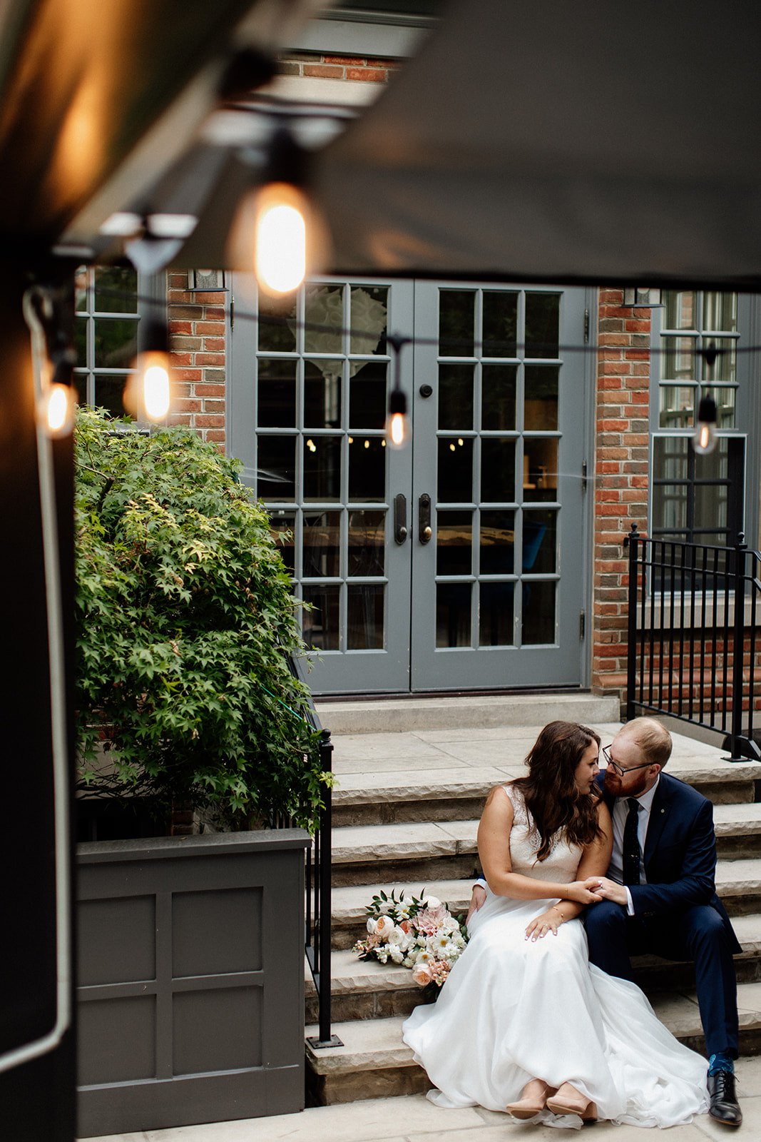 toronto backyard wedding photos